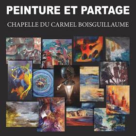 Exposition Peinture et partage Chapelle du Carmel à Bois-Guillaume 9 au 17 avril2016