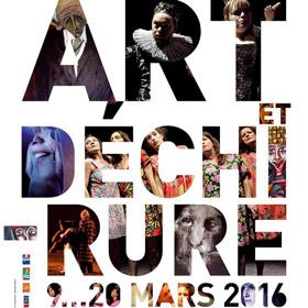 Festival Art et déchirure à Rouen jusqu'au 20 mars2016