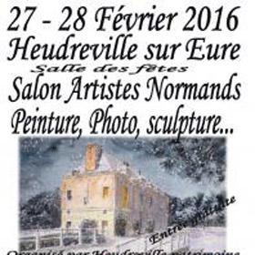 Salon des Artistes Normands à HEUDREVILLE 27 et 28 février2016