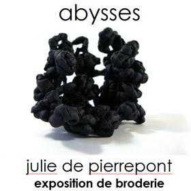 Exposition de broderie d art Julie de Pierrepont à Caen du 8 au 14 avril2016