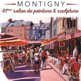 41ème salon de Peinture et Sculpture de Montigny du 6 au 17 avril2016