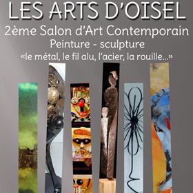 2ème Salon d'Art Contemporain à La Neuville Chant d'Oisel du 12 au 20 mars2016
