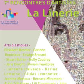 7ème rencontre de La Linerie à Crosville sur Scie du 15 mai au 5 juin2016