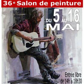 36ème Salon de peinture de La Bouille du 5 au 16 mai2016