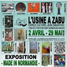 Exposition MADE IN NORMANDIE jusqu'au 29 mai2016