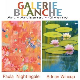 Expo de Paula Nightingale et Adrian Wincup à Giverny du 28 mai au 24 juin2016
