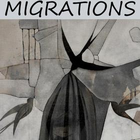 Exposition Collective MIGRATIONS à Bihorel du 17 au 19 juin2016
