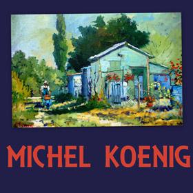 Exposition de Michel KOENIG à Cléon les 25 et 26 juin2016