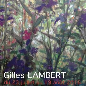 Exposition de Gilles LAMBERT à GIVERNY jusqu'au 19 août2016