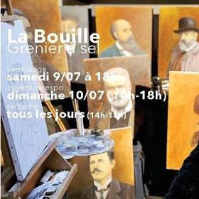 EXPOSITION de LUCIEN VIAN à LA BOUILLE du 10 juillet au 17 juillet2016