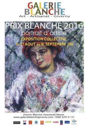 AFFICHE GB Prix blanche 2016 PORTRAITS