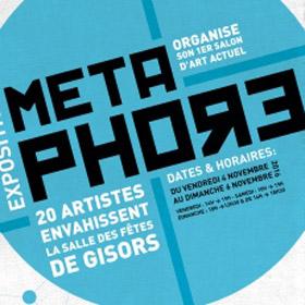 Exposition Art actuel MÉTAPHORE à Gisors du 4 au 6 novembre2016
