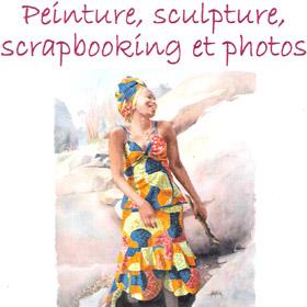 Exposition peinture, sculpture, scrapbooking et photos à FONTAINE LE BOURG les 15 et 16 octobre2016
