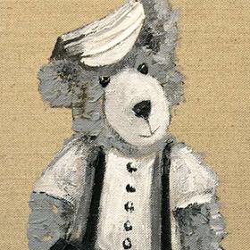 Exposition de peinture de Michèle Kaus au Bec Hellouin du 27 novembre au 30 décembre2016