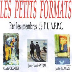 Exposition Les Petits Formats à FECAMP jusqu'au 5 janvier2017