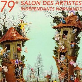 79ème Salon des ARTISTES INDÉPENDANTS NORMANDS à Rouen du 11 au 26 février2017