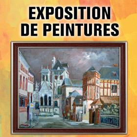 EXPOSITION DE PEINTURES AU MOULIN A LOUVIERS DU 25 AU 26 MARS2017