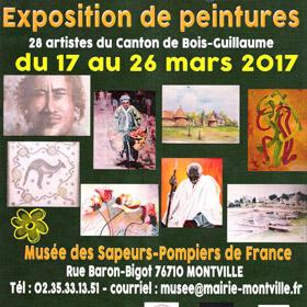 16 ème SALON DE PRINTEMPS à MONTVILLE du 17 au 26 MARS2017