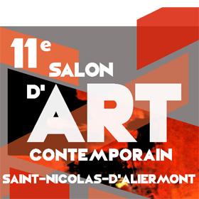 11ème Salon d'Art contemporain à Saint-Nicolas d'Aliermont du 6 au 14 mai2017
