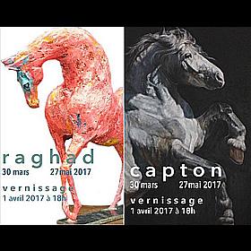 Exposition de RAGHAD et CAPTON à Mortagne au Perche jusqu'au 27 mai2017