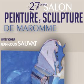 27e Salon Peinture et Sculpture de MAROMME : du 29 avril au 14 mai2017