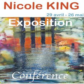 Exposition et conférence de Nicole King à la Galerie Blanche jusqu'au 26 mai2017