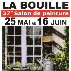 37e salon de la Peinture à La BOUILLE du 25 mai au 16 juin2017
