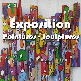 10e exposition de Sculptures / Peintures à St Philbert/Risle les 3-4 et 5 juin2017