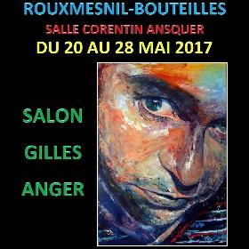 Exposition au salon Gilles Angers de Rouxmesnil-Bouteilles du 20 au 28 mai2017