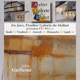Exposition Sylvie GUILLEMÉ à Maltot (14) du 22 au 26 juin2017