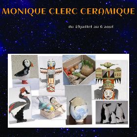 Exposition Monique CLERC à RY (76) du 19 juillet au 6 août2016