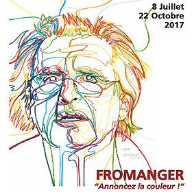 Exposition Gérard FROMANGER à Vascoeuil (27) du 8 juillet au 22 octobre2017