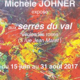 Exposition Michèle JOHNER à Veules les Roses (76) jusqu'au 31 août2017