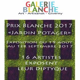 Exposition Dyptiques à Giverny (27) du 19 août au 1er septembre2017