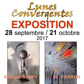 Exposition LUNES CONVERGENTES à Mortagne (61) du 28 septembre au 21 octobre2017