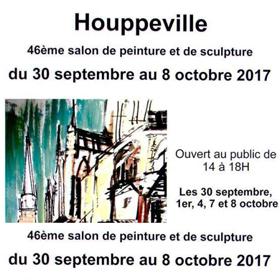 46ème Exposition Peinture & Sculpture à Houppeville(76) du 30 septembre au 8 octobre2017
