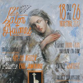 12ème Salon d'automne de la Mailleraye sur Seine (76) du 18 au 26 novembre2017