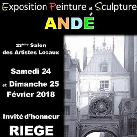 23ème Salon des Artistes locaux à ANDE (27) les 24-25 février2018