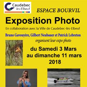 Expo Photo à Caudebec les Elbeuf du 3 au 11 mars2018