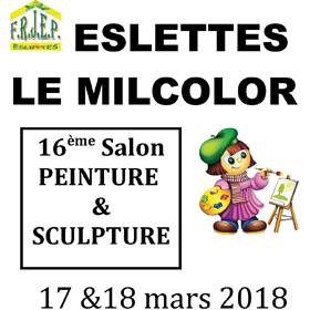 16ème salon de Peinture & Sculpture à Eslettes (76) les 17 et 18 mars2018