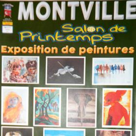 Exposition Peinture Salon de Printemps à Montville(76) du 16 au 25 mars2018