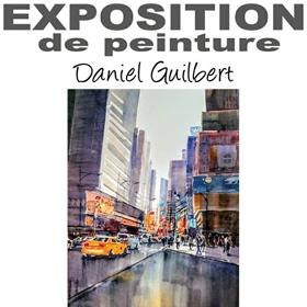 Exposition Peinture Daniel Guilbert à Alizay(27) du 5 au 19 mai2018