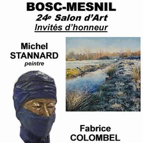 24e salon d'art à Bosc-Mesnil(76) les 28-29 avril2018