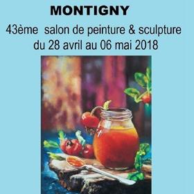 43e Salon Peinture Sculpture à Montigny(76) du 28 avril au 6 mai2018