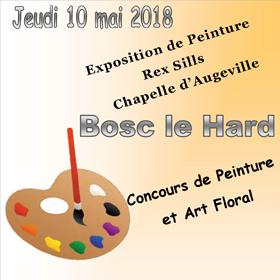 Concours et Exposition de peinture à Bosc le Hard (76) le 10 mai2018