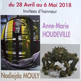 31eme Salon d'Arts Plastiques à St Pierre de Varengeville(76) du 28 avril au 6 mai2018