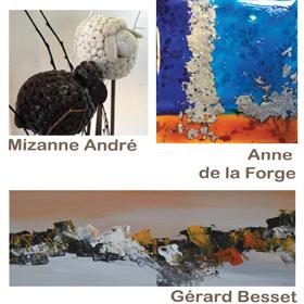 Exposition Sculpture & Peinture à Giverny(27) du 5 au 18 mai2018