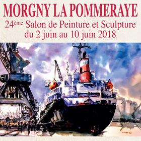 24e Salon Peinture Sculpture à Morgny la Pommeraye(76) du 2 au 10 juin2018