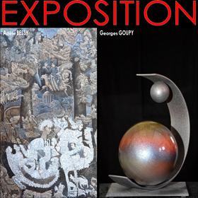 Exposition Peinture Sculpture à Barneville-Carteret (50) du 1er au 11 juin2018