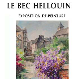 Exposition Peinture au Bec Hellouin(27) du 2 septembre au 30 novembre2018